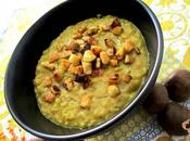 Zuppa lenticchie rosse castagne aroma clementina: scoperta, conferma, curiosità