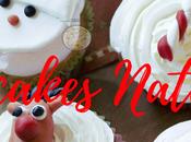 Cupcakes Rudolph, Snowman, Snow Flake Candy Cane Giorno Dell'Avvento