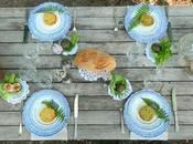 Allestimento tavola naturale