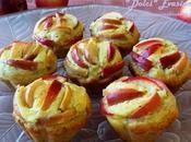 Muffins crema petali mela