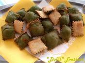 Raviolini Tortelli Fritti dell'Appennino Tosco-Romagnolo Bicolori
