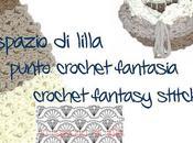 Punto fantasia all'uncinetto, schema videotutorial Crochet fantasy stitch, free tutorial chart