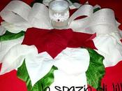 Facciamo insieme...Il centrotavola-fuoriporta stelle Natale Christmas centerpiece wreath with poinsettias