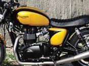 Custom Triumph Bonneville Build