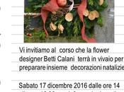 workshop Natale vivaio Piante Spertini