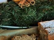 Torta facile Natale cannella, noce moscata, prugne cioccolato