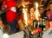 Torte bambini: Iron grattacielo infuocato Yoshi Super Mario Terminator