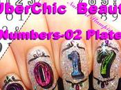 UberChic Beauty Numbers-01 Plate Year's Manicure Review Tutorial