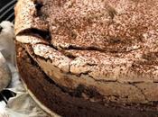 Chocolate meringue cake: dato, adesso basta però.