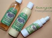 """Francy Bio-Culture Lozione Anticrespo Cocco&Miele, Shampoo """"Strawberry Kiss"""", Maschera Capelli """"Miele Vaniglia"""""""