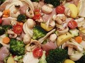 Teglia verdure pollo forno