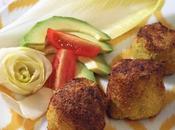 Polpette (finto fritto) salmone zucchine