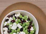 #VEGGYME Insalata edamame, feta cranberries