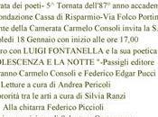 Alla Camerata Poeti Firenze incontro Luigi Fontanella