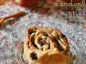 Chiocciole lievitazione naturale alle mele, mandorle mirtilli Sourdough apple, almond blueberry rolls