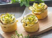 Rose zucchina light caprino