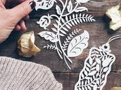 Floral Paper cutting