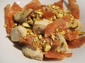 Pollo marinato Marsala Mortadella Bologna croccante