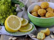Polpette Broccolo Romanesco, Limone Mandorle