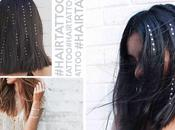 L'ultima moda capelli: Hair Tattoo Gems