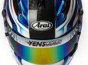 "Arai GP-6 ""Lichao"" Yen's Design Helmet Painting"