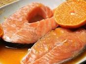 Salmone marinato all'arancia cotto cartoccio