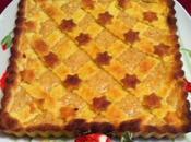 Crostata amaretti mandorle ricotta