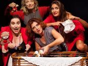 pluripremiato America Moms varieta' sulla maternità scena Roma ROMA Teatro della Cometa, febbraio 2017.