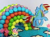 Torta arcobaleno Rainbow Dash