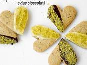 Frollini pistacchi cioccolati senza glutine