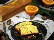 cake all' arancia, uvetta noci