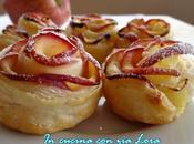 Rose mele pasta sfoglia ricetta facile