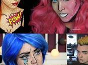 Idee Carnevale: trucco fumetto