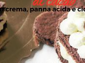 Cuori Pasta Biscuit Cacao Crema, Panna Acida Cioccolatini Fondenti