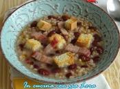 Zuppa farro fagioli vellutina sicilia
