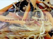 Spaghetti soia alle verdure