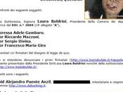 Laura Boldrini denunciati attentato all'articolo della Costituzione