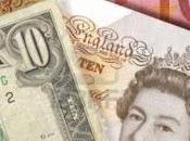 Trading online, settimana tinte oscure sterlina britannica