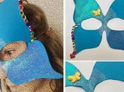 Maschere Carnevale farfalla simmetria