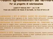 Incontro informativo. Prodotti agroalimentari territorio