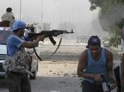 Libia scontri sono ancora corso Tripoli milizie filogovernative degli altri gruppi armati