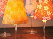 Lampade giapponesi carta