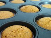 Muffin integrali alle carote arancia