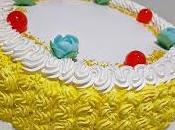 Torta crema bergamotto panna.