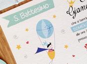 """BATTESIMO GIANANDREA: inviti bomboniere tema Piccolo Principe"""""""