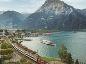 Gotthard Panorama Express, viaggio treno battello