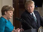 Usa: incontro Merkel Trump cordiale freddo. scontro immigrazione