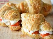 Croissant salati farine integrali (senza uova)