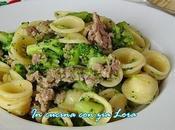 Orecchiette broccoli salsiccia