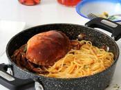 kavouromakaronada spaghetti granchio